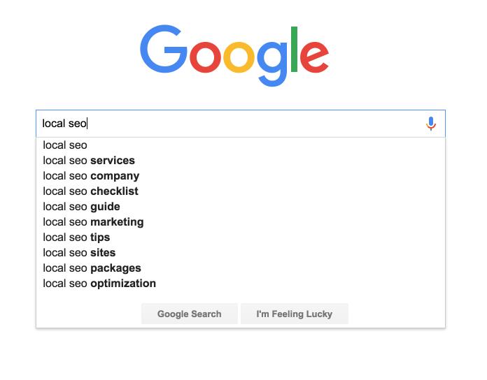 google keyword suggest